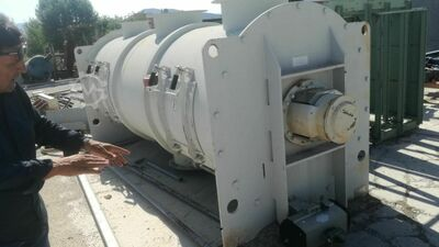 HORIZONTAL MIXER FOR LOOSE, POWDER