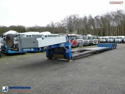 Doll 3 axle lowbed trailer T3H S3F/25 / 65 t / 3 steeri