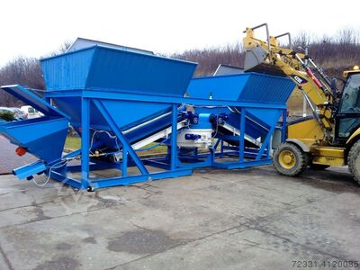 METALIKA MBT-750 (4 hoppers) 12m3 / h