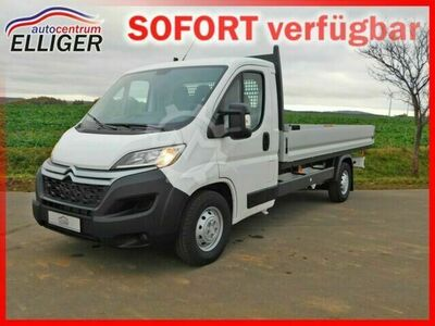Citroen Jumper Pritsche 35 Heavy L4 Blue HDi 165