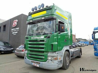 Retarder manual Scania R 500 topline