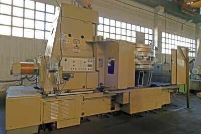 WMW ZFWZ 2000/30 2500mm Gear Hobber