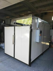 Bumex machines for powder coating