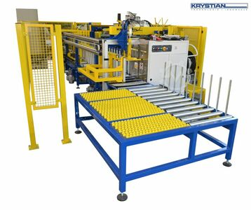 Cores packaging line