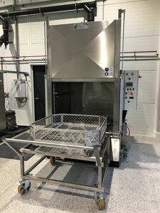 metal parts washer, camber