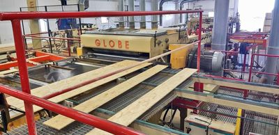 GLOBE Machinery Trimsaw