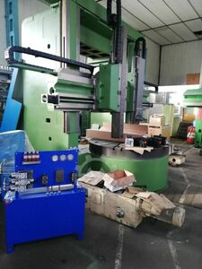 Vertical Lathe, double column