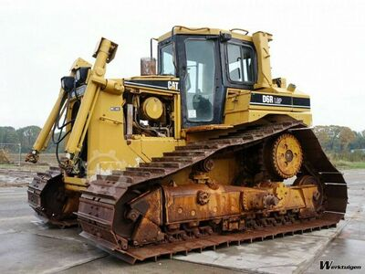 Caterpillar D6R LGP incl. blade