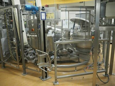 Automatic dough mixing carousel I.C.