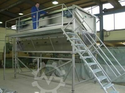 Used Dornow- roller peeling machine