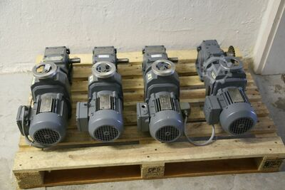 Electric motor with gearbox