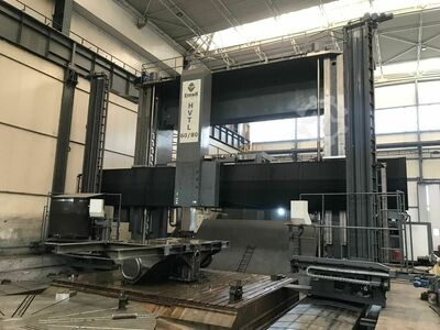 12m Vertical Turning Lathe w/ 2 tables