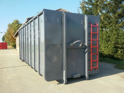 DECKER Abrollcontainer Silagecontainer