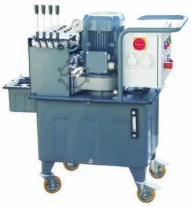 Hydraulic Core-Pull Unit