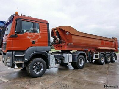 MAN TGS 18.440 + Tipper trailer 6 Units
