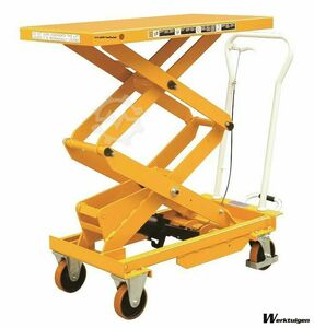 Intralift BS50D Double scissor lift 500kg
