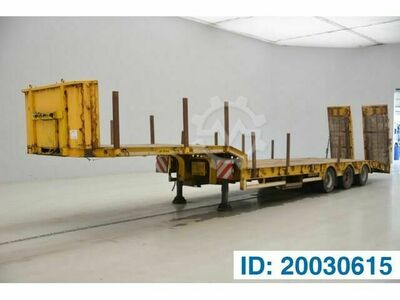Sonstige/Other TURBO`S HOET Low bed trailer