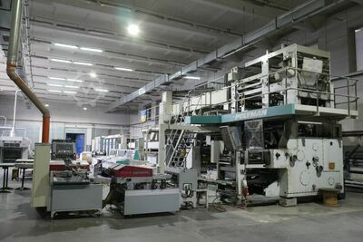 Polyman Five Unit Web Offset Press