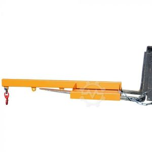 Load arm for forklift truck