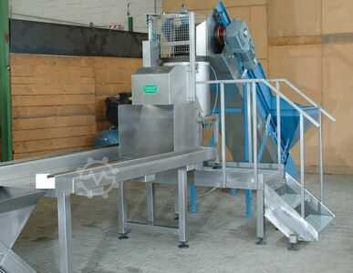 Automatic Batch Type Peeling Line, used
