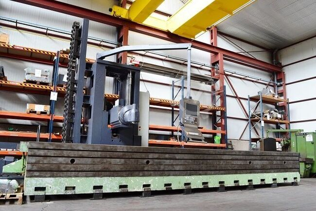 Correa Mobile column milling machine CORREA L30/58 - 79010304L30/58