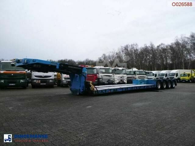 Goldhofer 4 axle lowbed trailer 94T//STZ VHH 47/80A//4 steer