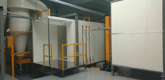 ROMER Automat Automatic spray booth