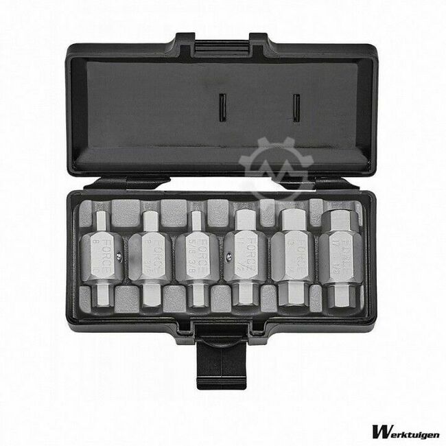 Toolstore Carterplug Doppen set 6 delig 5061