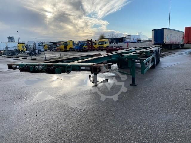 Sonstige/Other Krone Sdc 27 Nn Containerchassis, 3 assen