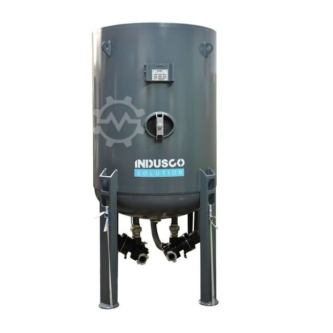 Indusco Solution Sandblasting 500l +accessories for 1user