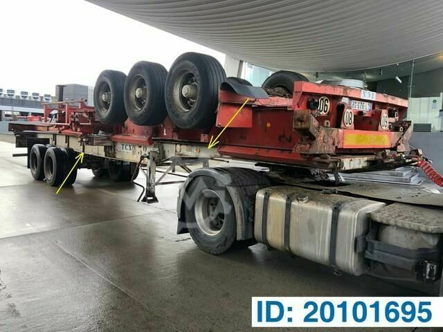Sonstige/Other Trailer Skelet 2 x 20 40 ft
