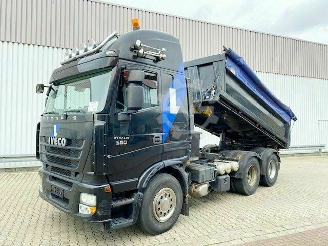 Iveco Magirus Stralis AS260S50 6x4 Stralis AS260S50 6x4