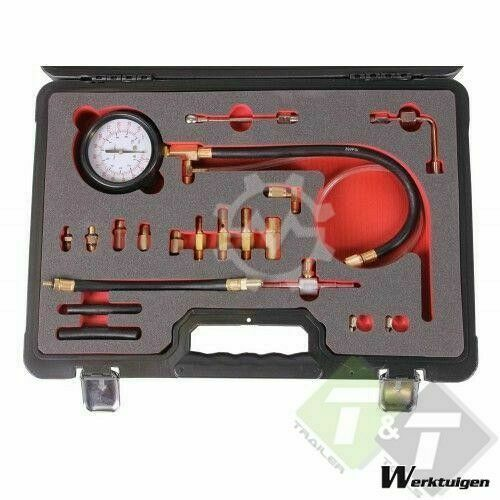 Trailer And Tools Brandstof injectie tester, 20 delig