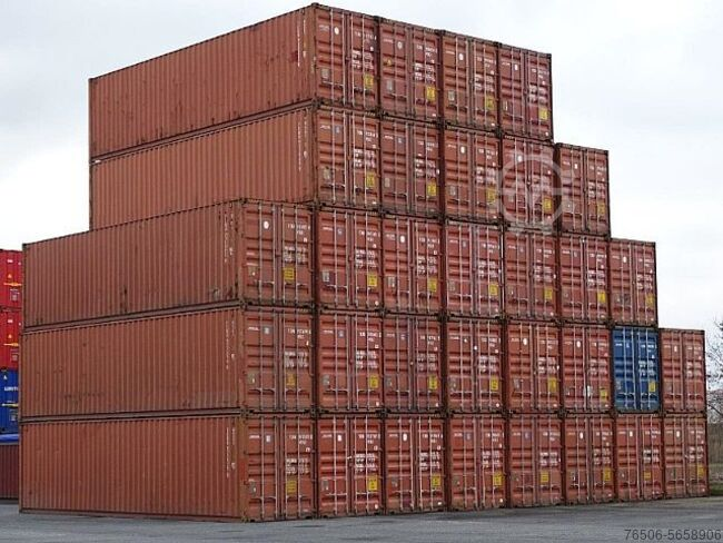 Sonstige/Other 40 ft HC Lagercontainer Hochseecontainer Container