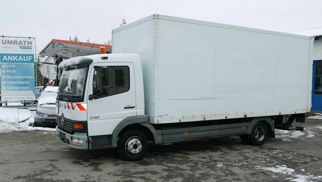 Mercedes Benz DB Atego 815 Koffer/ Ladebordwand