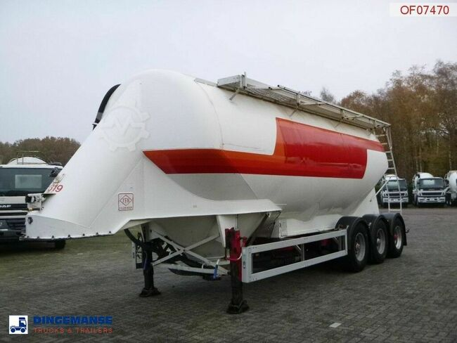 Feldbinder Powder tank alu 38 m3 / 1 comp