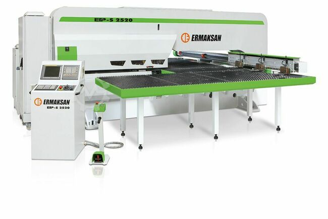ERMAKSAN ETP-S CNC Servo Turret Punch Press