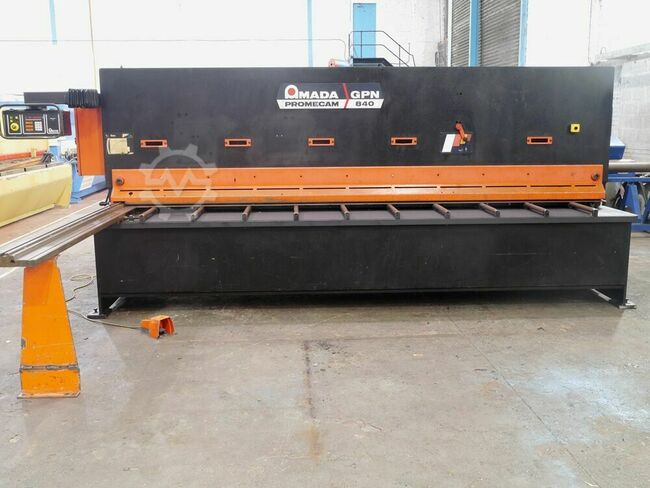 AMADA GPN 840 4000mm x 8mm Guillotine/Shear