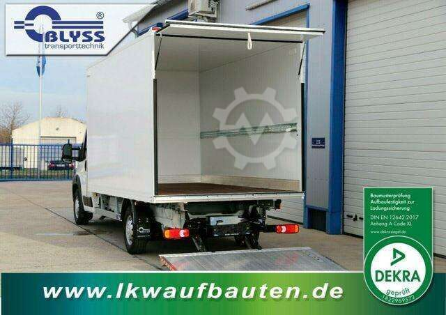 Peugeot Boxer 165 PS Koffer, Ladebordwand 410x210x210 cm