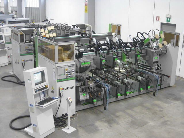 BIESSE GROUP Techno FDT CN + Techno SDT CN
