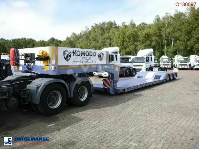Sonstige/Other Komodo 3 axle Lowbed KMD 3 3 steering axles / N