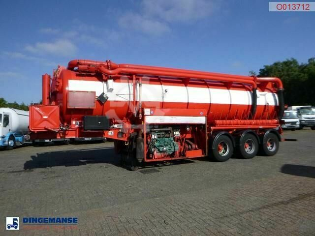 Sonstige/Other AHP Vacuum tank steel (tipping) 29 m3 / 1 comp