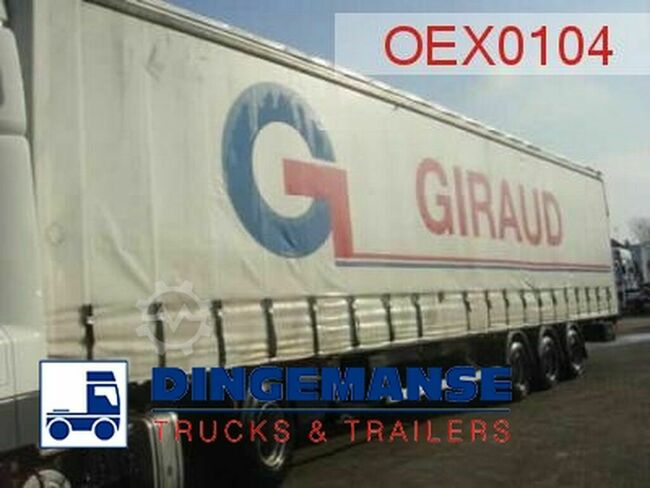 Fruehauf Curtain box MEGA volume