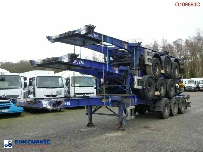 SDC Stack - 3 x Container trailer 20-30-40-45 ft (slid