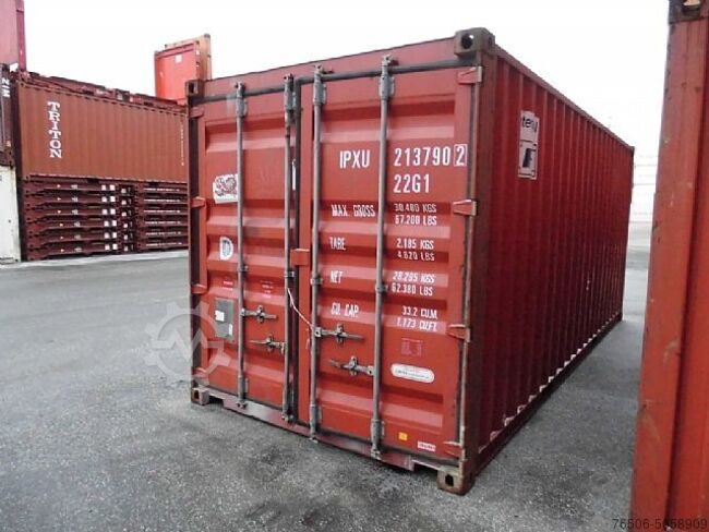 Sonstige/Other 20`DV Lagercontainer Seecontainer Hochseecontainer