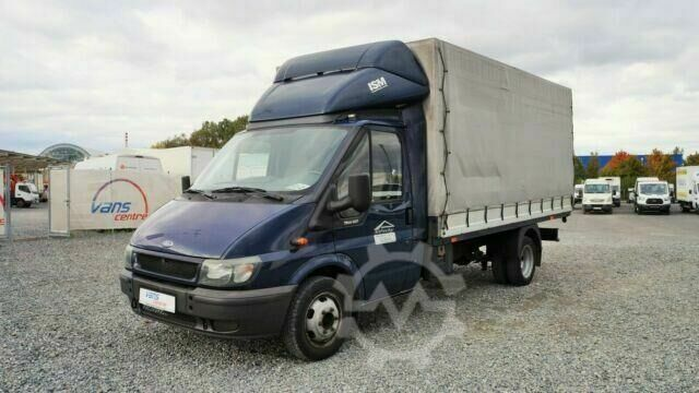 Ford Transit 2.4TDCI/88kw pritsche 8 PAL/zwilling/AHK