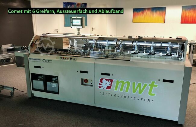 Pitney Bowes/MWT Lettershopsysteme GmbH Comet