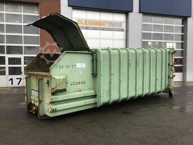KIGGEN Press container 15m3 380 Volt