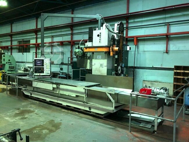 ZAYER KFU-3000 3000mm CNC Bed Miller