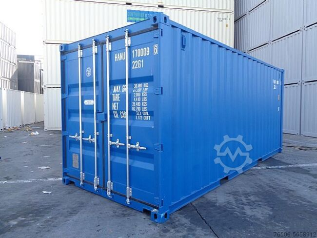 Sonstige/Other 20`DV Seecontainer NEU RAL5010 Lagercontainer